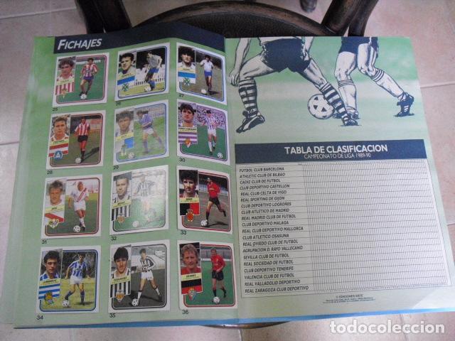 Álbum de fútbol completo: album, liga 89 - 90, de ediciones ESTE, - Foto 22 - 87567760