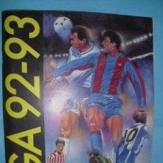 Álbum de fútbol completo: ALBUM, LIGA 92 - 93, DE EDICIONES ESTE,. Lote 87570636