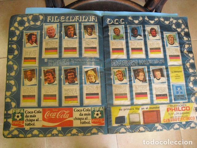 Álbum de fútbol completo: album, mundial de argentina 78, de el diario la mañana, de argentina. el album es argentino, - Foto 4 - 87573256
