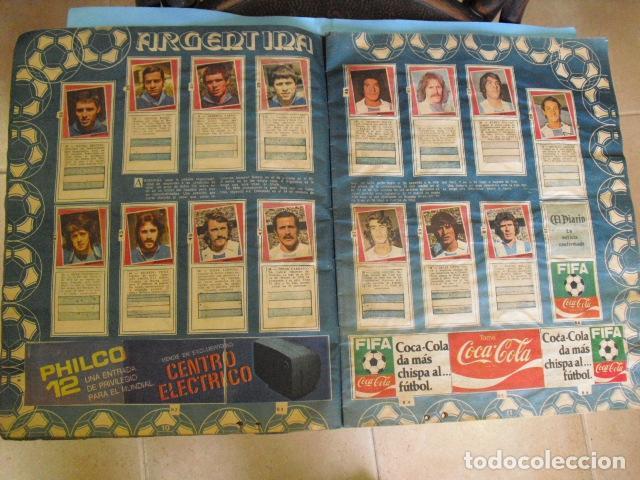 Álbum de fútbol completo: album, mundial de argentina 78, de el diario la mañana, de argentina. el album es argentino, - Foto 5 - 87573256