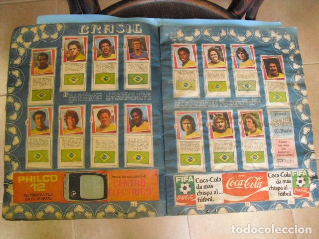 Álbum de fútbol completo: album, mundial de argentina 78, de el diario la mañana, de argentina. el album es argentino, - Foto 7 - 87573256