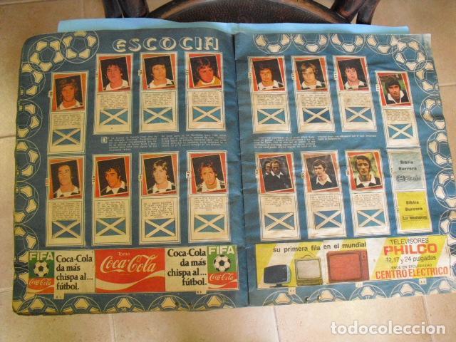 Álbum de fútbol completo: album, mundial de argentina 78, de el diario la mañana, de argentina. el album es argentino, - Foto 8 - 87573256