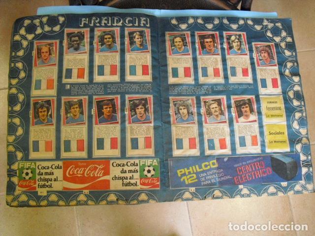 Álbum de fútbol completo: album, mundial de argentina 78, de el diario la mañana, de argentina. el album es argentino, - Foto 10 - 87573256