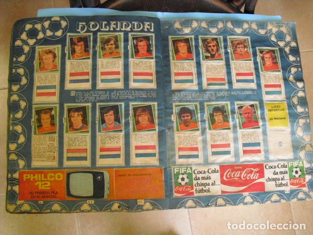 Álbum de fútbol completo: album, mundial de argentina 78, de el diario la mañana, de argentina. el album es argentino, - Foto 11 - 87573256