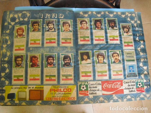 Álbum de fútbol completo: album, mundial de argentina 78, de el diario la mañana, de argentina. el album es argentino, - Foto 13 - 87573256