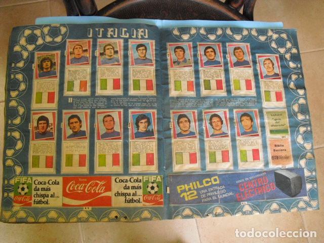 Álbum de fútbol completo: album, mundial de argentina 78, de el diario la mañana, de argentina. el album es argentino, - Foto 14 - 87573256