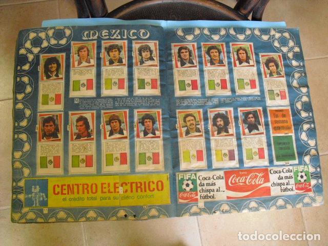 Álbum de fútbol completo: album, mundial de argentina 78, de el diario la mañana, de argentina. el album es argentino, - Foto 15 - 87573256