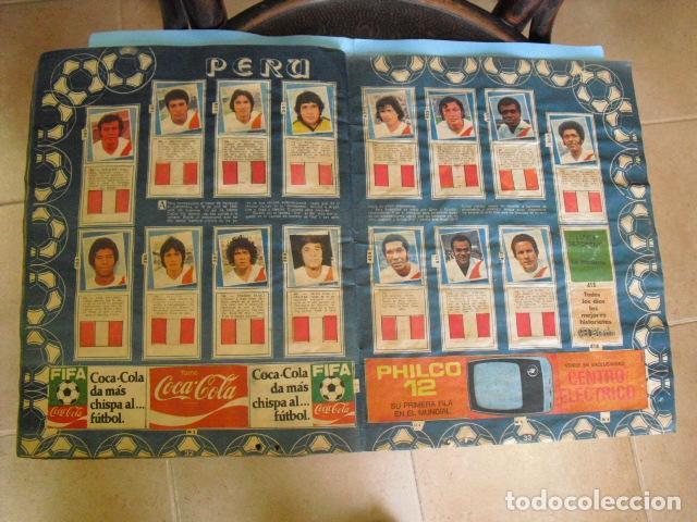 Álbum de fútbol completo: album, mundial de argentina 78, de el diario la mañana, de argentina. el album es argentino, - Foto 16 - 87573256