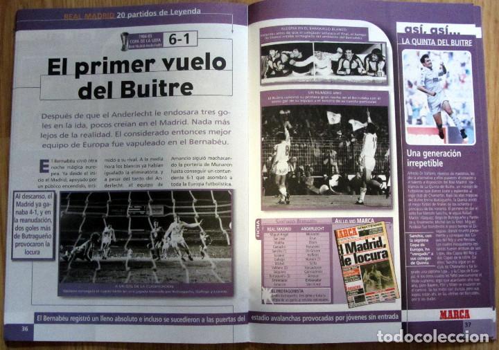 Álbum de fútbol completo: ALBUM CROMOS MARCA STICKERS REAL MADRID MEJOR EQUIPO MUNDO 20 PARTIDOS LEYENDA - Foto 2 - 87962708