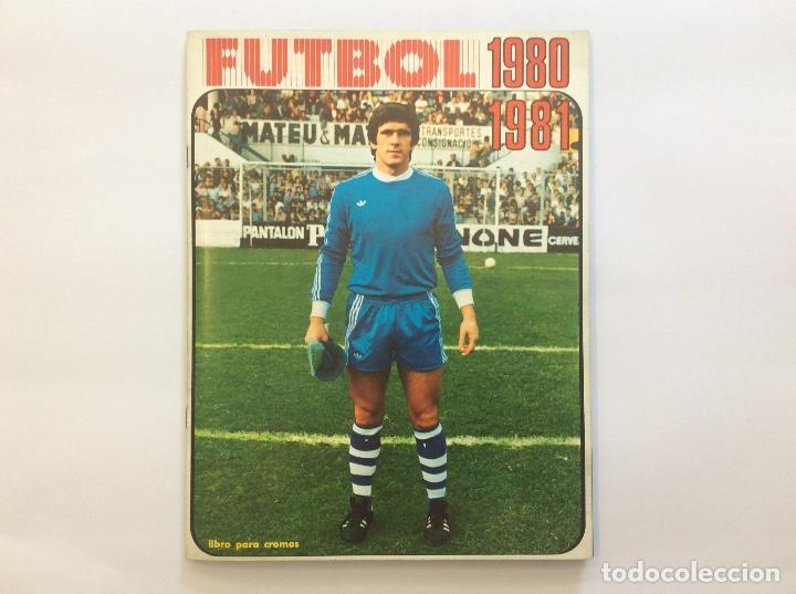 ÁLBUM CROMOS FUTBOL 1980 1981 MÁS SOBRE VACÍO (Coleccionismo Deportivo - Álbumes y Cromos de Deportes - Álbumes de Fútbol Completos)