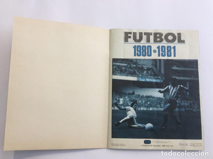 Álbum de fútbol completo: Álbum Cromos FUTBOL 1980 1981 MÁS SOBRE VACÍO - Foto 3 - 88407564