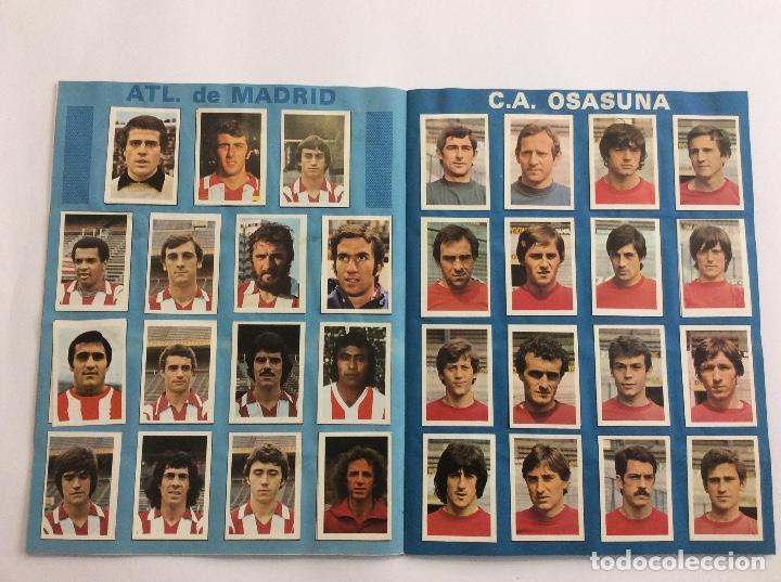 Álbum de fútbol completo: Álbum Cromos FUTBOL 1980 1981 MÁS SOBRE VACÍO - Foto 5 - 88407564