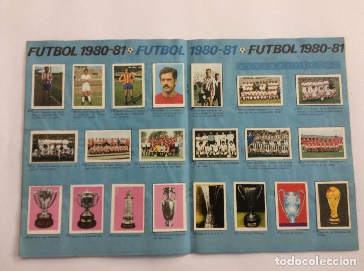 Álbum de fútbol completo: Álbum Cromos FUTBOL 1980 1981 MÁS SOBRE VACÍO - Foto 9 - 88407564