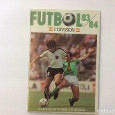 Álbum de fútbol completo: ÁLBUM CROMOS FUTBOL 83/84 COMPLETO MÁS SUSTITUOS, ENTRENADORES..... Lote 88501416