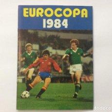 Álbum de fútbol completo: ÁLBUM CROMOS EUROCOPA 1984 COMPLETOS MAS 2 SOBRE VACIOS. Lote 88505468