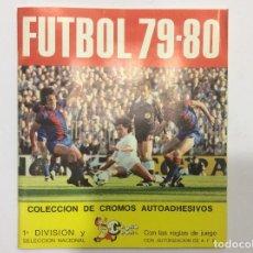 Álbum de fútbol completo: ÁLBUM CROMOS FUFTBOL 79-80 COMPLETO 1 SOBRE VACÍO . Lote 88762972