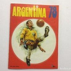 Álbum de fútbol completo: ÁLBUM CROMOS ARGENTINA 78 COMPLETO + SUPLEMENTO CROMOS + SOBRES VACIOS + HAZ TU PROPIA SELECCIÓN. Lote 88766420
