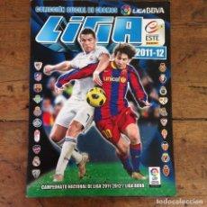 Álbum de fútbol completo: ÁLBUM DE CROMOS COMPLETO DE LIGA ESTE PANINI 2011 2012 11-12 SIN CHICLES. Lote 159699245