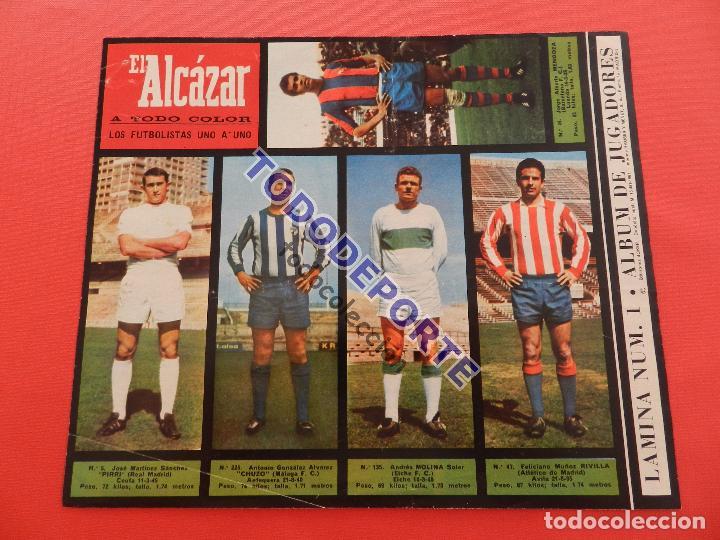 Álbum de fútbol completo: COLECCION COMPLETA CROMOS EL ALCAZAR LIGA 67/68 SIN PEGAR 1967/1968 - INCLUYE LAMINA COMPLEMENTARIA - Foto 2 - 88855064