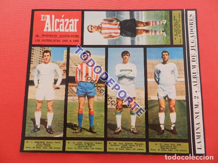 Álbum de fútbol completo: COLECCION COMPLETA CROMOS EL ALCAZAR LIGA 67/68 SIN PEGAR 1967/1968 - INCLUYE LAMINA COMPLEMENTARIA - Foto 3 - 88855064