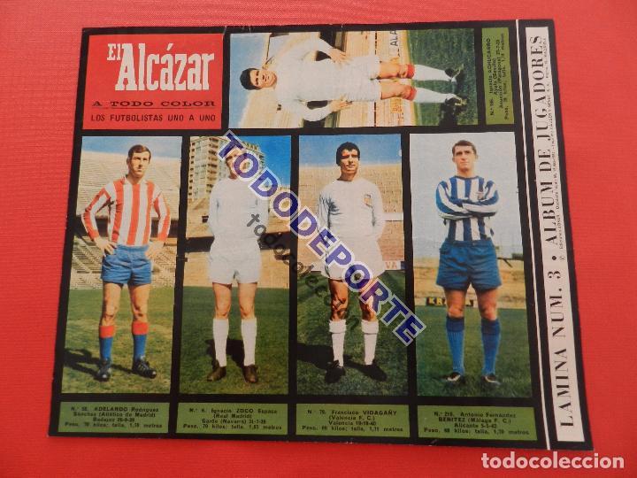Álbum de fútbol completo: COLECCION COMPLETA CROMOS EL ALCAZAR LIGA 67/68 SIN PEGAR 1967/1968 - INCLUYE LAMINA COMPLEMENTARIA - Foto 4 - 88855064