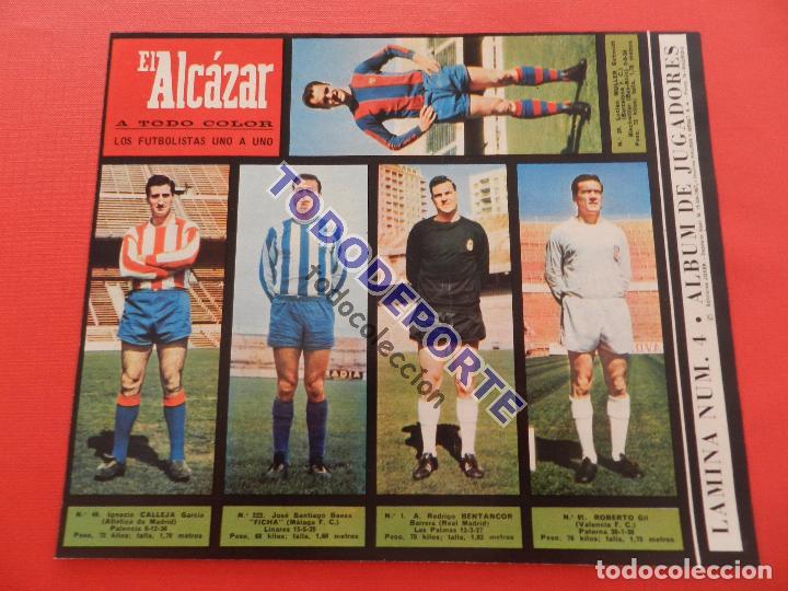 Álbum de fútbol completo: COLECCION COMPLETA CROMOS EL ALCAZAR LIGA 67/68 SIN PEGAR 1967/1968 - INCLUYE LAMINA COMPLEMENTARIA - Foto 5 - 88855064