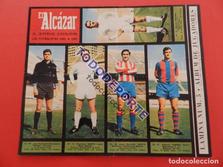 Álbum de fútbol completo: COLECCION COMPLETA CROMOS EL ALCAZAR LIGA 67/68 SIN PEGAR 1967/1968 - INCLUYE LAMINA COMPLEMENTARIA - Foto 6 - 88855064