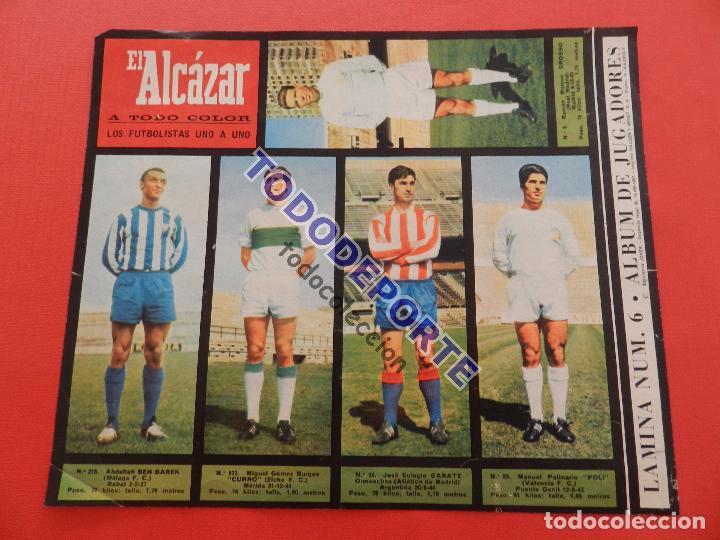 Álbum de fútbol completo: COLECCION COMPLETA CROMOS EL ALCAZAR LIGA 67/68 SIN PEGAR 1967/1968 - INCLUYE LAMINA COMPLEMENTARIA - Foto 7 - 88855064