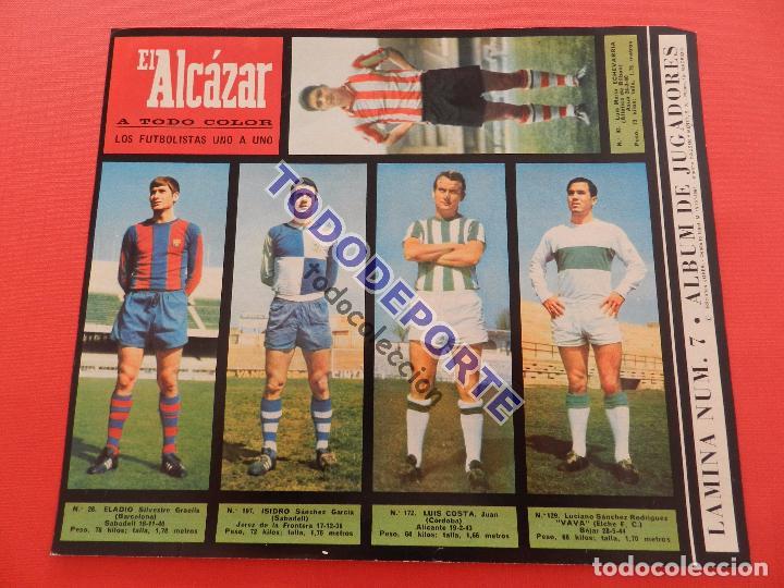 Álbum de fútbol completo: COLECCION COMPLETA CROMOS EL ALCAZAR LIGA 67/68 SIN PEGAR 1967/1968 - INCLUYE LAMINA COMPLEMENTARIA - Foto 8 - 88855064