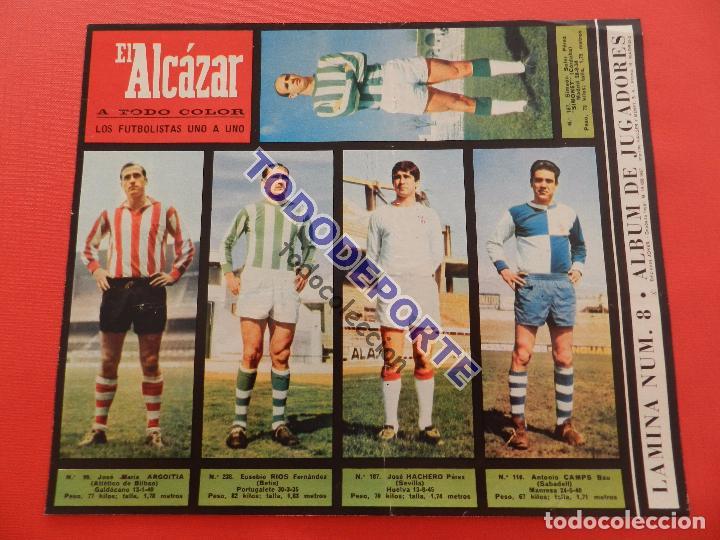 Álbum de fútbol completo: COLECCION COMPLETA CROMOS EL ALCAZAR LIGA 67/68 SIN PEGAR 1967/1968 - INCLUYE LAMINA COMPLEMENTARIA - Foto 9 - 88855064