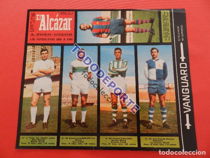 Álbum de fútbol completo: COLECCION COMPLETA CROMOS EL ALCAZAR LIGA 67/68 SIN PEGAR 1967/1968 - INCLUYE LAMINA COMPLEMENTARIA - Foto 10 - 88855064