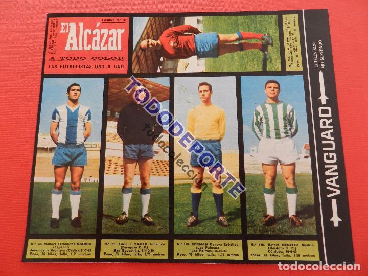 Álbum de fútbol completo: COLECCION COMPLETA CROMOS EL ALCAZAR LIGA 67/68 SIN PEGAR 1967/1968 - INCLUYE LAMINA COMPLEMENTARIA - Foto 11 - 88855064