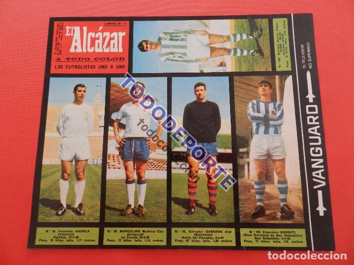 Álbum de fútbol completo: COLECCION COMPLETA CROMOS EL ALCAZAR LIGA 67/68 SIN PEGAR 1967/1968 - INCLUYE LAMINA COMPLEMENTARIA - Foto 12 - 88855064