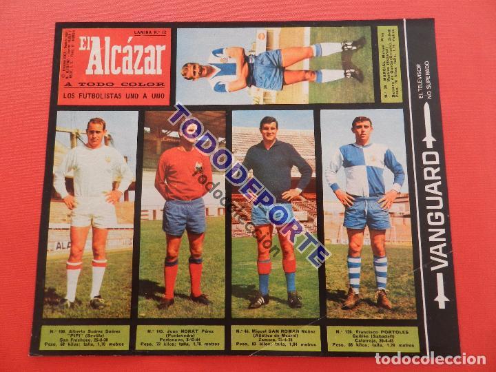 Álbum de fútbol completo: COLECCION COMPLETA CROMOS EL ALCAZAR LIGA 67/68 SIN PEGAR 1967/1968 - INCLUYE LAMINA COMPLEMENTARIA - Foto 13 - 88855064