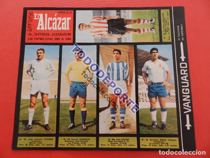 Álbum de fútbol completo: COLECCION COMPLETA CROMOS EL ALCAZAR LIGA 67/68 SIN PEGAR 1967/1968 - INCLUYE LAMINA COMPLEMENTARIA - Foto 14 - 88855064