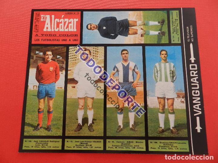 Álbum de fútbol completo: COLECCION COMPLETA CROMOS EL ALCAZAR LIGA 67/68 SIN PEGAR 1967/1968 - INCLUYE LAMINA COMPLEMENTARIA - Foto 15 - 88855064