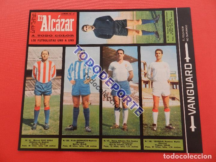 Álbum de fútbol completo: COLECCION COMPLETA CROMOS EL ALCAZAR LIGA 67/68 SIN PEGAR 1967/1968 - INCLUYE LAMINA COMPLEMENTARIA - Foto 16 - 88855064