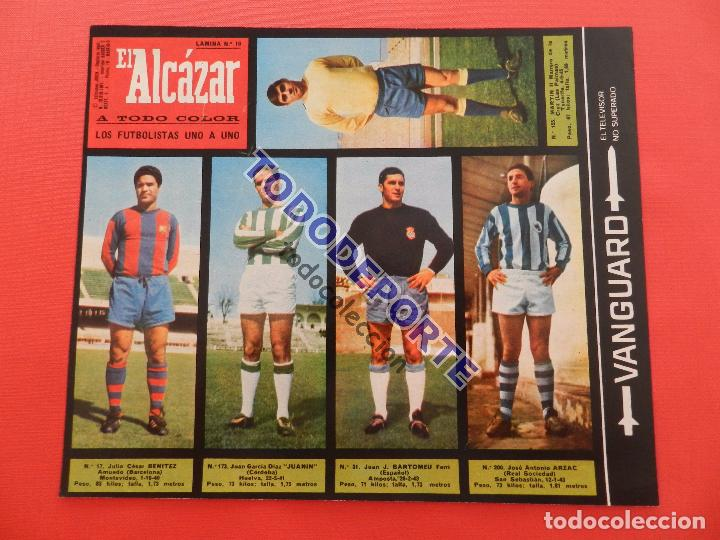 Álbum de fútbol completo: COLECCION COMPLETA CROMOS EL ALCAZAR LIGA 67/68 SIN PEGAR 1967/1968 - INCLUYE LAMINA COMPLEMENTARIA - Foto 17 - 88855064