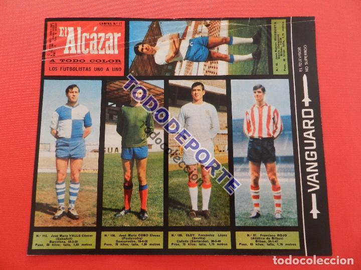 Álbum de fútbol completo: COLECCION COMPLETA CROMOS EL ALCAZAR LIGA 67/68 SIN PEGAR 1967/1968 - INCLUYE LAMINA COMPLEMENTARIA - Foto 18 - 88855064