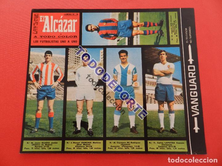 Álbum de fútbol completo: COLECCION COMPLETA CROMOS EL ALCAZAR LIGA 67/68 SIN PEGAR 1967/1968 - INCLUYE LAMINA COMPLEMENTARIA - Foto 19 - 88855064