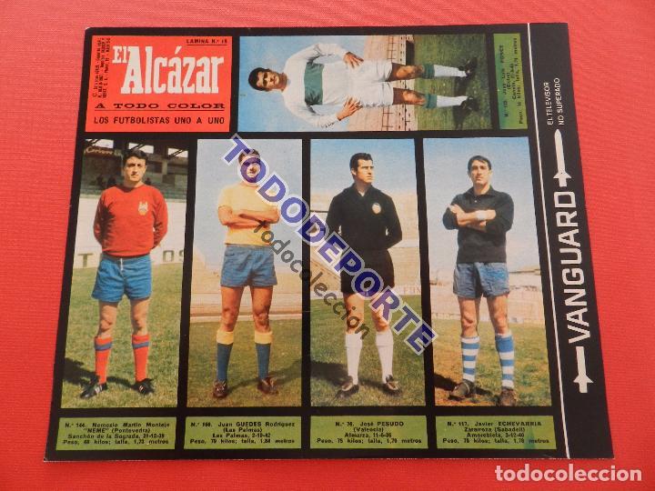 Álbum de fútbol completo: COLECCION COMPLETA CROMOS EL ALCAZAR LIGA 67/68 SIN PEGAR 1967/1968 - INCLUYE LAMINA COMPLEMENTARIA - Foto 20 - 88855064
