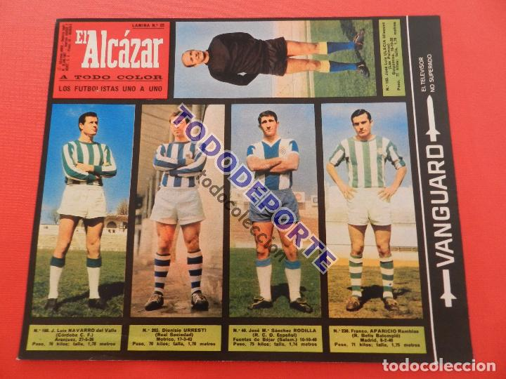 Álbum de fútbol completo: COLECCION COMPLETA CROMOS EL ALCAZAR LIGA 67/68 SIN PEGAR 1967/1968 - INCLUYE LAMINA COMPLEMENTARIA - Foto 23 - 88855064
