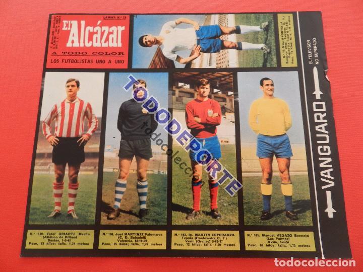Álbum de fútbol completo: COLECCION COMPLETA CROMOS EL ALCAZAR LIGA 67/68 SIN PEGAR 1967/1968 - INCLUYE LAMINA COMPLEMENTARIA - Foto 24 - 88855064