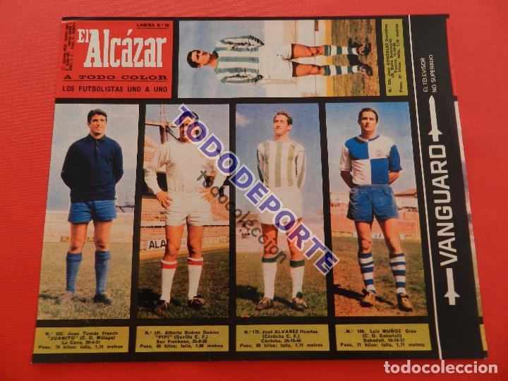 Álbum de fútbol completo: COLECCION COMPLETA CROMOS EL ALCAZAR LIGA 67/68 SIN PEGAR 1967/1968 - INCLUYE LAMINA COMPLEMENTARIA - Foto 29 - 88855064