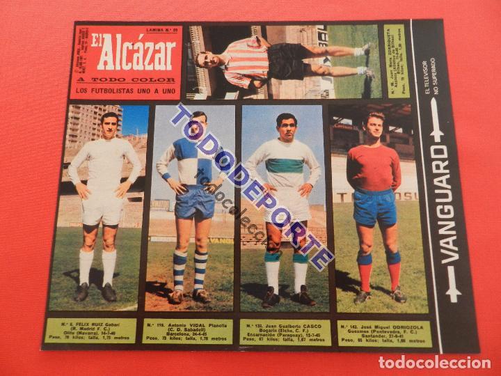 Álbum de fútbol completo: COLECCION COMPLETA CROMOS EL ALCAZAR LIGA 67/68 SIN PEGAR 1967/1968 - INCLUYE LAMINA COMPLEMENTARIA - Foto 30 - 88855064