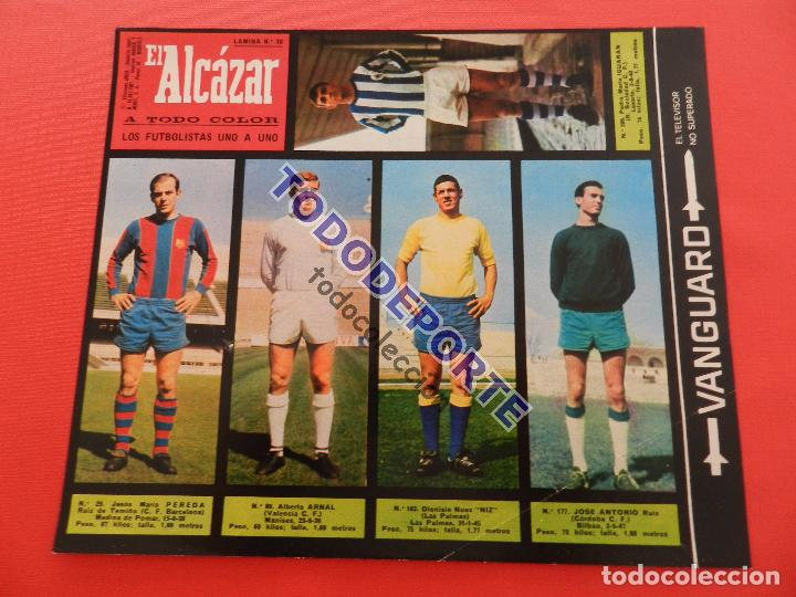 Álbum de fútbol completo: COLECCION COMPLETA CROMOS EL ALCAZAR LIGA 67/68 SIN PEGAR 1967/1968 - INCLUYE LAMINA COMPLEMENTARIA - Foto 31 - 88855064