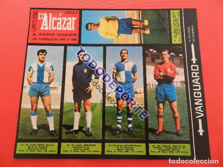 Álbum de fútbol completo: COLECCION COMPLETA CROMOS EL ALCAZAR LIGA 67/68 SIN PEGAR 1967/1968 - INCLUYE LAMINA COMPLEMENTARIA - Foto 32 - 88855064