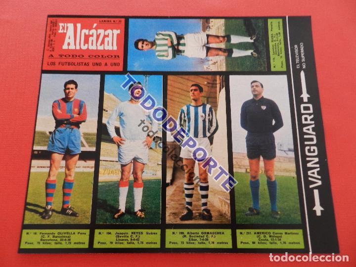 Álbum de fútbol completo: COLECCION COMPLETA CROMOS EL ALCAZAR LIGA 67/68 SIN PEGAR 1967/1968 - INCLUYE LAMINA COMPLEMENTARIA - Foto 34 - 88855064