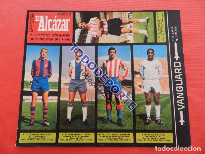 Álbum de fútbol completo: COLECCION COMPLETA CROMOS EL ALCAZAR LIGA 67/68 SIN PEGAR 1967/1968 - INCLUYE LAMINA COMPLEMENTARIA - Foto 36 - 88855064