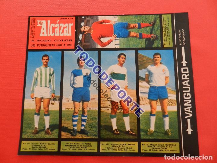 Álbum de fútbol completo: COLECCION COMPLETA CROMOS EL ALCAZAR LIGA 67/68 SIN PEGAR 1967/1968 - INCLUYE LAMINA COMPLEMENTARIA - Foto 37 - 88855064